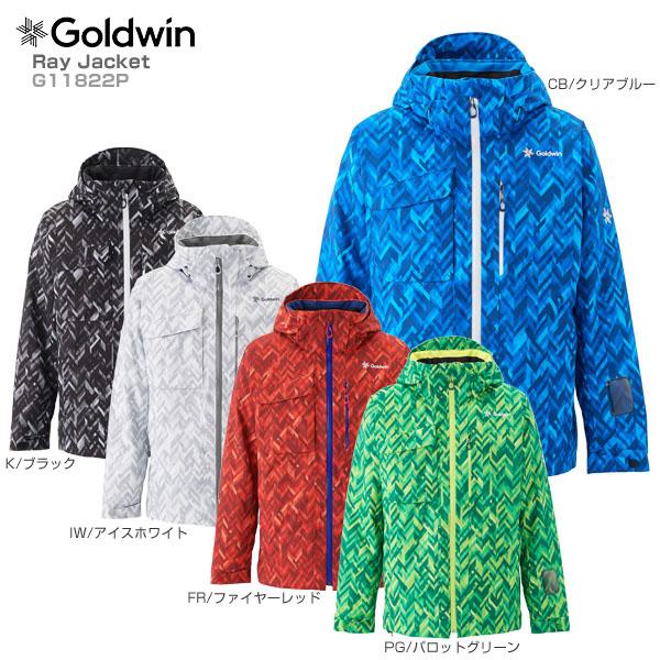 【1000円OFFクーポン配布中】【18-19 NEWモデル】GOLDWIN〔ゴールドウィン スキーウェア ジャケット〕<2019>Ray Jacket G11822P【送料無料】 スキー スノーボード【GARA】