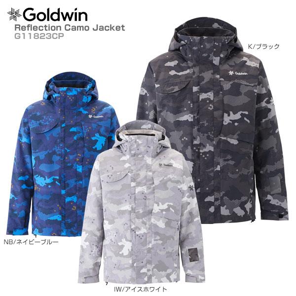 【クーポン配布中】【あす楽】【18-19 NEWモデル】GOLDWIN〔ゴールドウィン スキーウェア ジャケット〕<2019>Reflection Camo Jacket G11823CP【送料無料】【GARA】