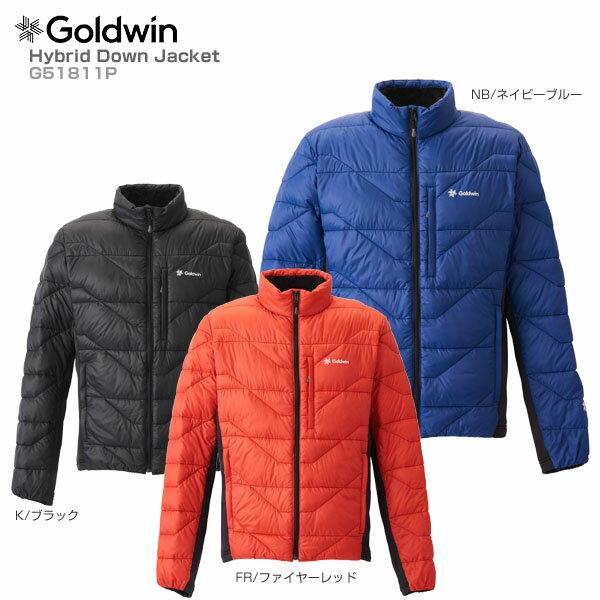 新作 【18-19 Jacket NEWモデル】GOLDWIN〔ゴールドウィン ミドルレイヤー〕<2019>Hybrid Down Down Jacket G51811P【送料無料【18-19】, エデン:9df002cb --- clftranspo.dominiotemporario.com