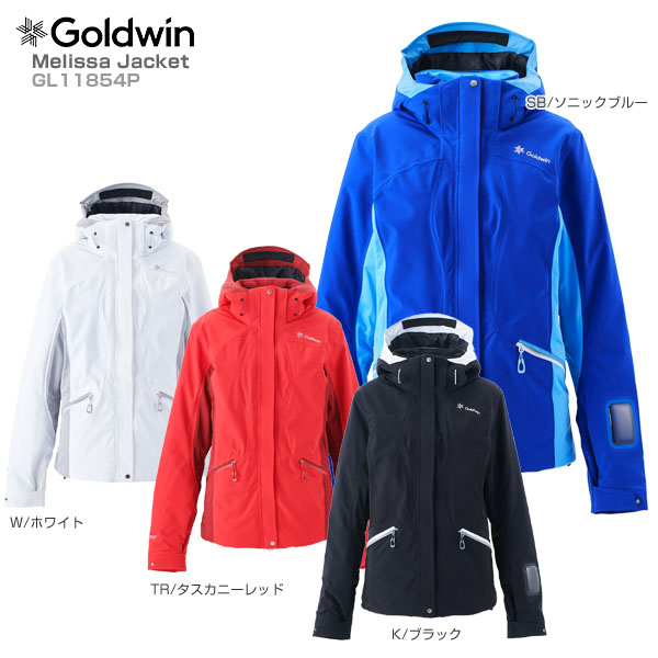 【18-19 NEWモデル】GOLDWIN〔ゴールドウィン スキーウェア ジャケット レディース〕<2019>Melissa Jacket GL11854P【GORE-TEX】【送料無料】 スキー スノーボード【MUJI】