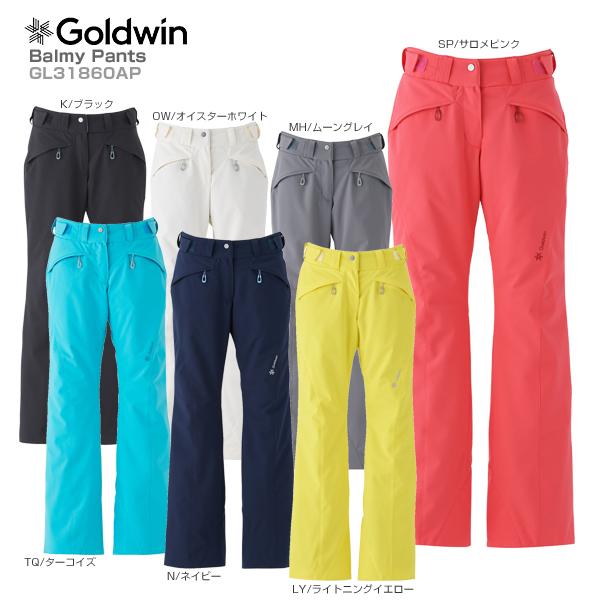 GOLDWIN〔ゴールドウィン スキーウェア レディース パンツ〕<2019>Balmy Pants GL31860AP【MUJI】〔SA〕
