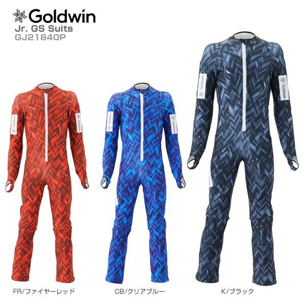 【スマホからエントリーでP10倍! 11/14 10時~11/21 9時59分】【18-19 NEWモデル】GOLDWIN〔ゴールドウィン ジュニア GSワンピース〕<2019>Jr. GS Suits GJ21840P【送料無料】