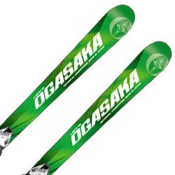 【18-19 NEWモデル 予約受付中】OGASAKA〔オガサカ ジュニアスキー板〕<2019>TC-JUNIOR〔ティーシージュニア〕TC-J + SLR 7.5AC【金具付き・取付送料無料】