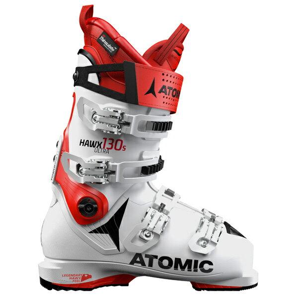 〔ポイント5倍〕【★18-19早期予約】ATOMIC〔アトミック スキーブーツ〕<2019>HAWX ULTRA 130 S〔White/Red〕【送料無料】