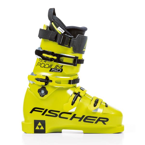 【18-19 NEWモデル】FISCHER〔フィッシャー スキーブーツ〕<2019>RC4 PODIUM 150〔yellow/yellow〕【送料無料】 新作 メンズ レディース【TNPD】