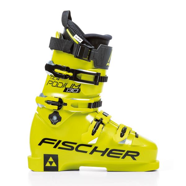 FISCHER〔フィッシャー スキーブーツ〕<2019>RC4 PODIUM 130〔yellow/yellow〕【送料無料】 旧モデル 型落ち メンズ レディース【TNPD】〔SA〕