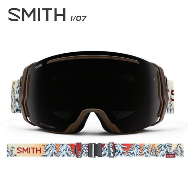 【数量限定モデル】SMITH 〔スミス スキーゴーグル〕<2018>I/O7〔アイオーセブン〕〔Dirksen AC〕【スペアレンズ付】【送料無料】