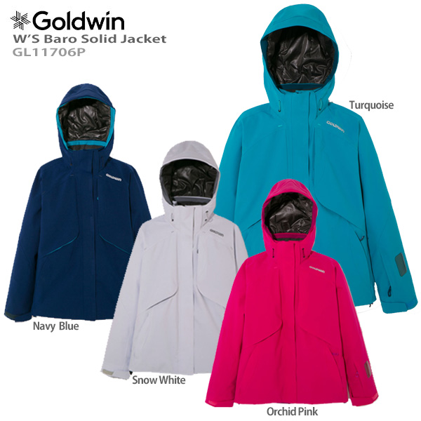 GOLDWIN〔ゴールドウィン スキーウェア レディース ジャケット〕<2018>W'S Baro Solid Jacket GL11706P【送料無料】〔SA〕