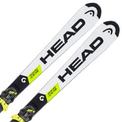 【期間限定!スキー板はさらにポイント5倍!11/14 18時~11/21 13時まで】HEAD〔ヘッド ジュニアスキー板〕<2019>WORLDCUP REBELS I.SL RD TEAM + FREEFLEX EVO 11 BR.85[D]【金具付き・取付送料無料】