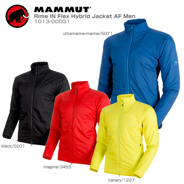 MAMMUT〔マムート スキーウェア ジャケット メンズ〕<2019>Rime IN Flex Hybrid Jacket AF Men/1013-00031【送料無料】