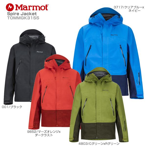 Marmot〔マーモット スキーウェア ジャケット〕<2019>Spire Jacket TOMMGK3155【GORE-TEX】【送料無料】