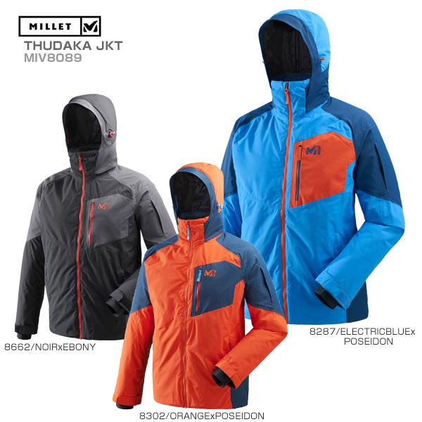 MILLET〔ミレー スキーウェア ジャケット メンズ〕<2019>THUDAKA JKT/MIV8089【送料無料】