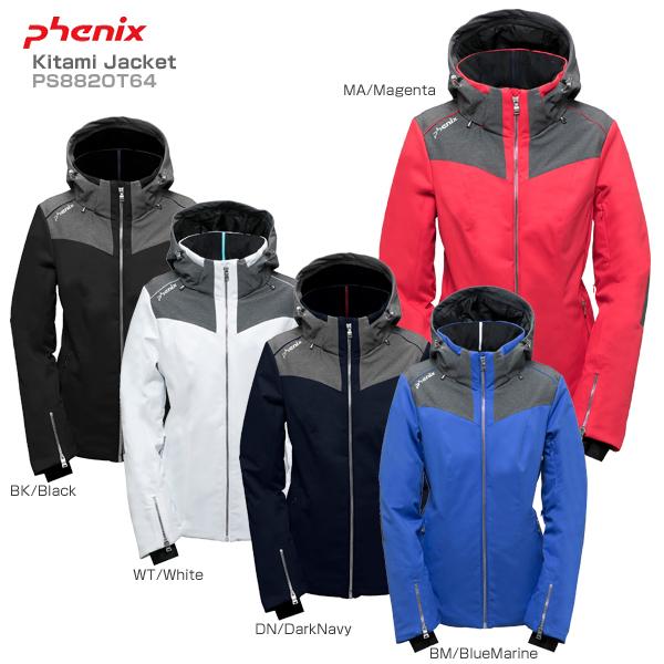 PHENIX〔フェニックス レディース スキーウェア〕<2019>Kitami Jacket〔キタミジャケット〕PS882OT64【送料無料】
