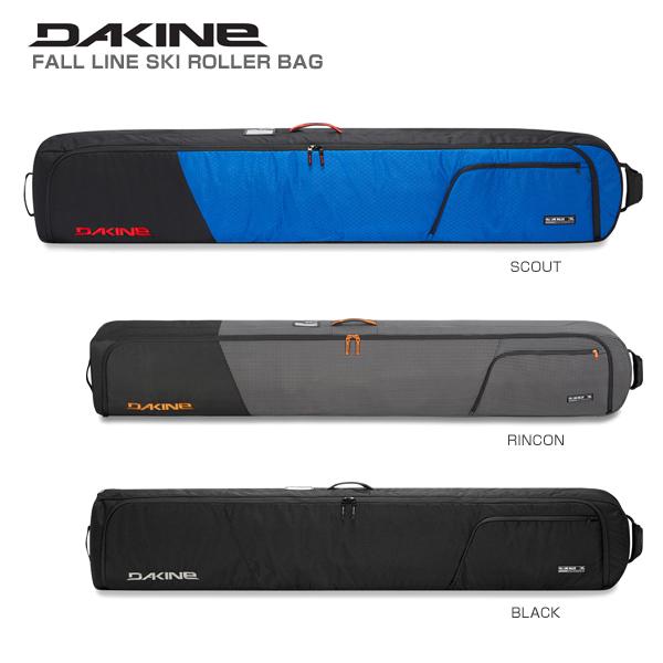 【クーポン配布中】【あす楽】DAKINE〔ダカイン 2台用スキーケース〕<2019>FALL LINE SKI ROLLER BAG
