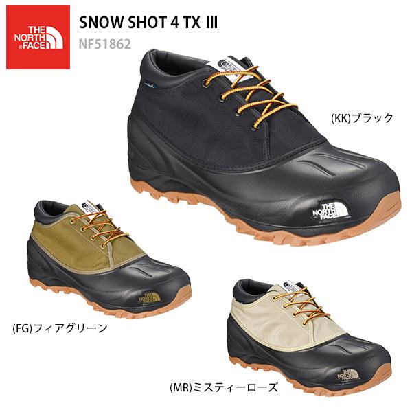 THE NORTH FACE〔ザ・ノースフェイス スノーシューズ〕<2019>SNOW SHOT 4 TX 3/ NF51862