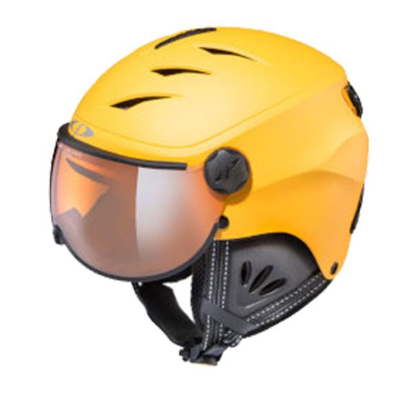 CP〔シーピー ジュニア スキーヘルメット〕<2019>CP CAMULINO GFB CPC1932〔ゴールドフュージョン/ ブラック〕 【送料無料】