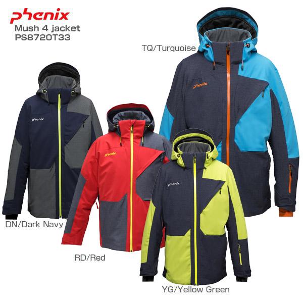 PHENIX〔フェニックス スキーウェア ジャケット メンズ〕<2019>Mush 4 jacket〔マッシュ4ジャケット〕PS872OT33【送料無料】