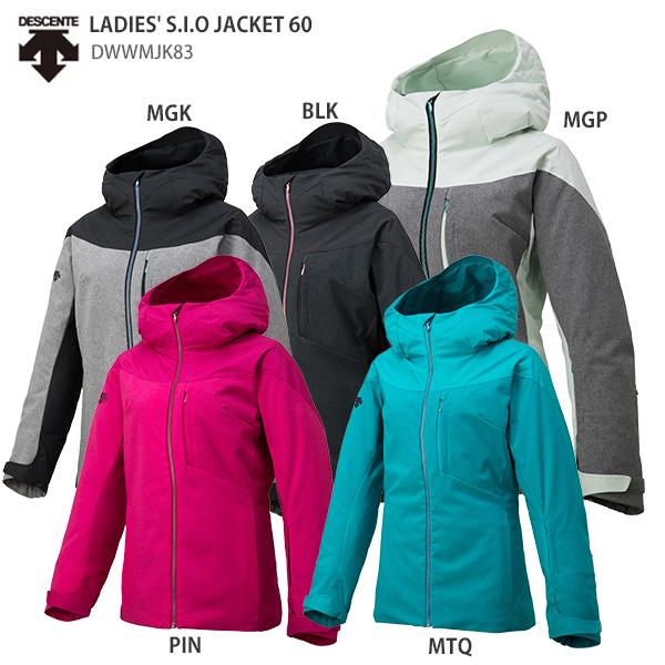 DESCENTE〔デサント スキーウェア レディース ジャケット〕<2019>LADIES' S.I.O JACKET 60/DWWMJK83 送料無料 【MUJI】〔SA〕