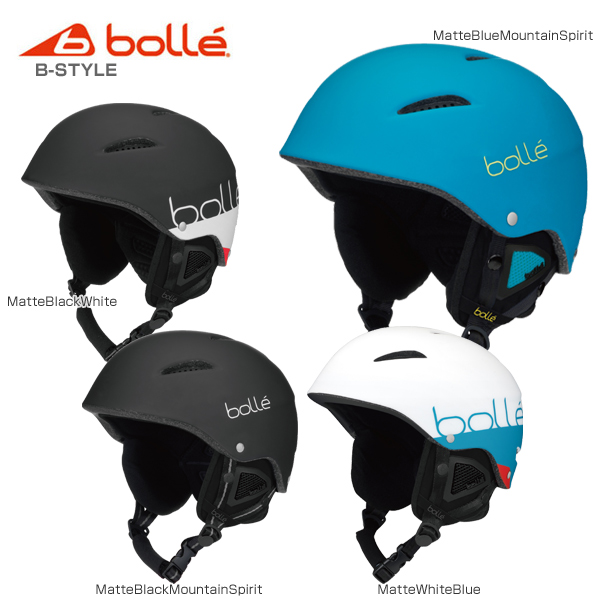 【クーポン配布中】【あす楽】【送料無料】bolle〔ボレー スキーヘルメット〕<2019>B-STYLE