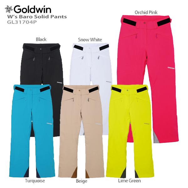 GOLDWIN〔ゴールドウィン スキーウェア レディース パンツ〕<2018>W's Baro Solid Pants GL31704P〔SA〕
