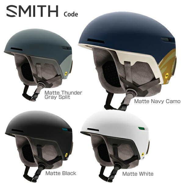 【エントリーでP5倍! 11/10 23:59まで】SMITH〔スミス スキーヘルメット〕<2018>Code Mips〔コード〕【ASIAN FIT】【boa搭載】