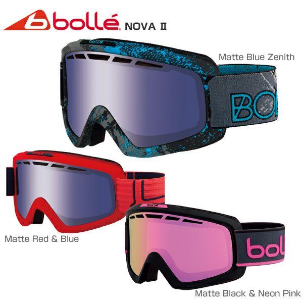 【送料無料】bolle 〔ボレー スキーゴーグル〕<2018>NOVA 2 〔ノヴァ2〕〔SAG〕