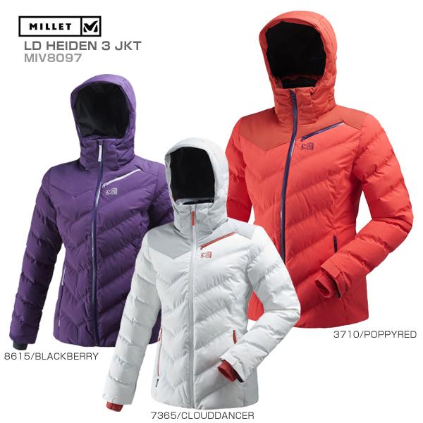 MILLET〔ミレー スキーウェア レディース ジャケット〕<2019>LD HEIDEN 3 JKT/MIV8097 送料無料 〔SA〕