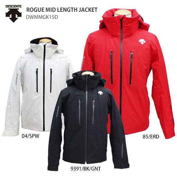 DESCENTE〔デサント スキーウェア メンズ ジャケット〕<2019>ROGUE MID LENGTH JACKET/DWMMGK15D 送料無料 【MUJI】〔SA〕【X】