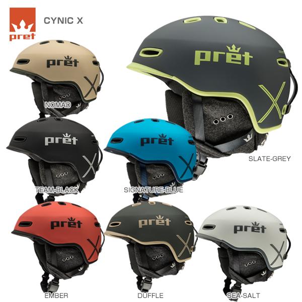 【クーポン配布中】【あす楽】Pret〔プレット スキーヘルメット〕<2019>CYNIC X〔シニックX〕〔SAH〕