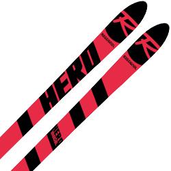 【エントリでP10&初売りセール!】ROSSIGNOL〔ロシニョール スキー板〕<2019>HERO MOGUL ACCELERE + MARKER〔マーカー〕<2019>XCELL 12〔BLACK/FLORED〕【送料無料】