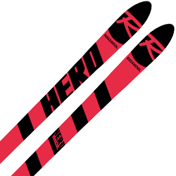 ROSSIGNOL〔ロシニョール スキー板〕<2019>HERO ATHLETE MOGUL ACCELERE + <20>XCELL 12.0 WH/BK/RD【金具付き・取付送料無料】