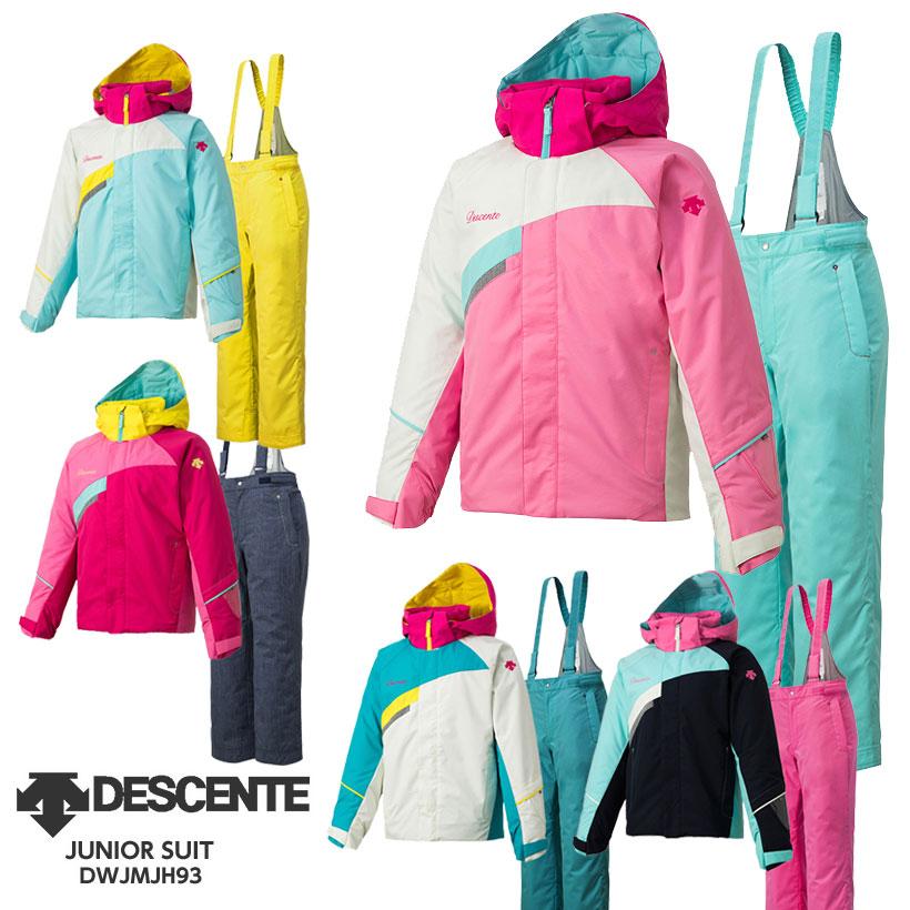 【クーポン配布中】【あす楽】DESCENTE〔デサント ジュニア スキーウェア〕<2019>JUNIOR SUIT/DWJMJH93【上下セット ジュニア】
