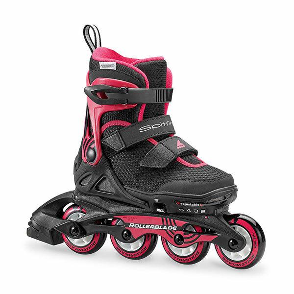 Rollerblade〔ローラーブレード ジュニアインラインスケート〕SPITFIRE SL G〔BK/PINK〕【サイズ調整可能】