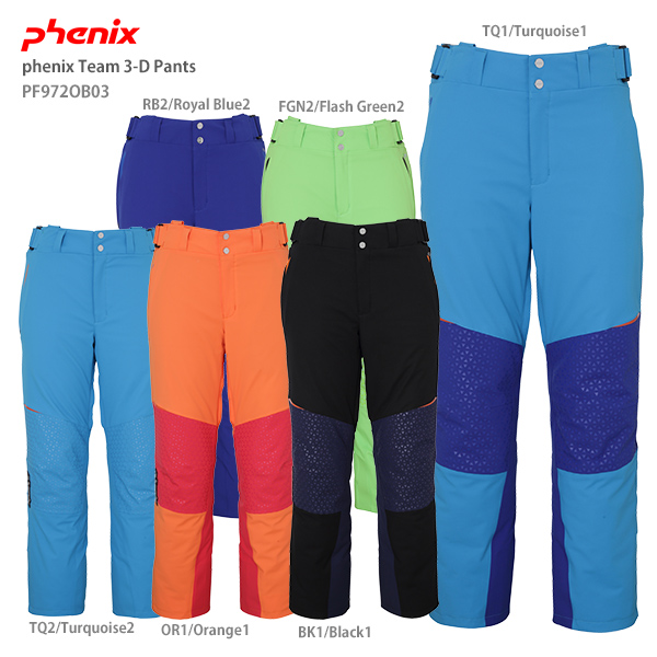 【19-20 NEWモデル】PHENIX〔フェニックス スキーウェア パンツ〕<2020>phenix Team 3-D Pants PF972OB03【技術選着用モデル】【送料無料】