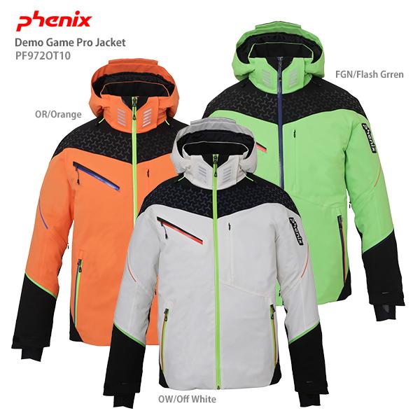 【ポイント5倍!】【19-20早期予約】PHENIX〔フェニックス スキーウェア ジャケット〕<2020>Demo Game Pro Jacket PF972OT10【技術選着用モデル】【F】【送料無料】