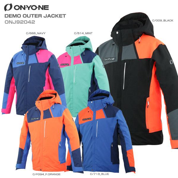 ON・YO・NE オンヨネ スキーウェア レディース ジャケット 2020 DEMO OUTER JACKET デモアウタージャケット ONJ92042送料無料 19-20 NEWモデル