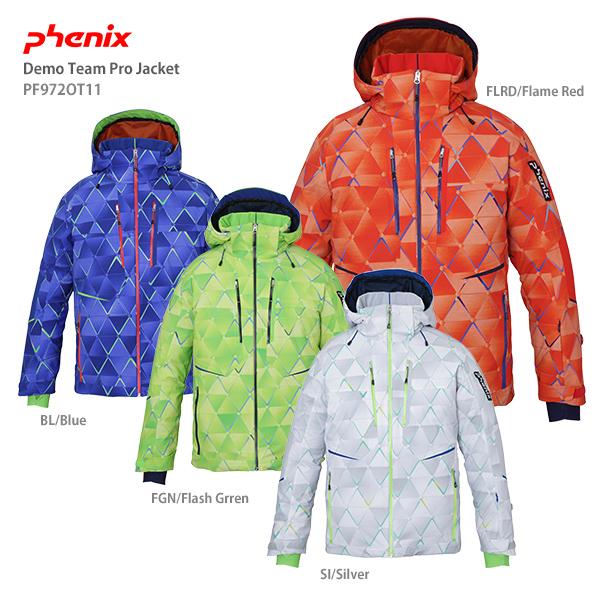 PHENIX フェニックス スキーウェア メンズ ジャケット 2020 Demo Team Pro Jacket PF972OT11【技術選着用モデル】送料無料 19-20