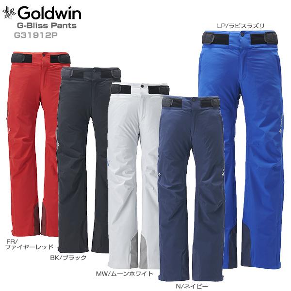 【19-20 NEWモデル】GOLDWIN〔ゴールドウィン スキーウェア パンツ〕<2020>G-Bliss Pants G31912P【送料無料】