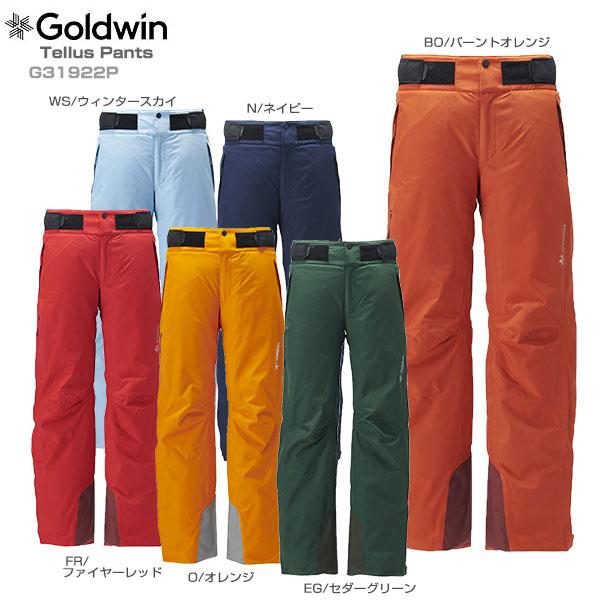 【19-20 NEWモデル】GOLDWIN〔ゴールドウィン スキーウェア パンツ〕<2020>Tellus Pants G31922P【GORE-TEX】【送料無料】