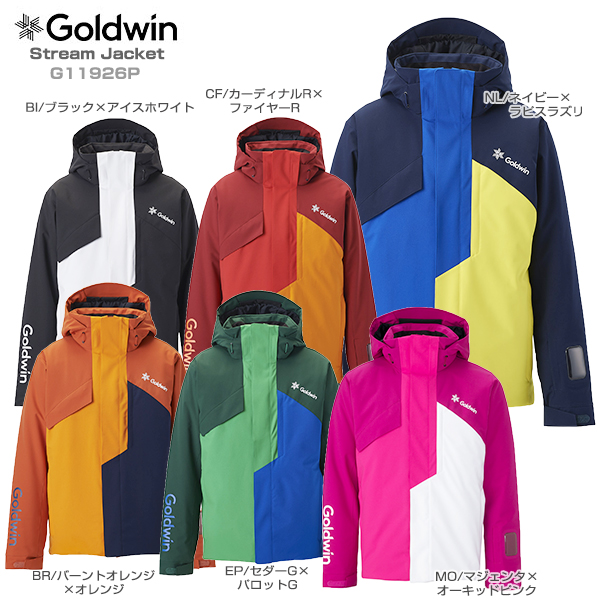 2019-2020 旧モデル スキー ウエア スノーウェア スキー ウェア メンズ レディース スキー ウェア GOLDWIN ゴールドウィン ジャケット 2020 Stream Jacket G11926P 19-20 旧モデル