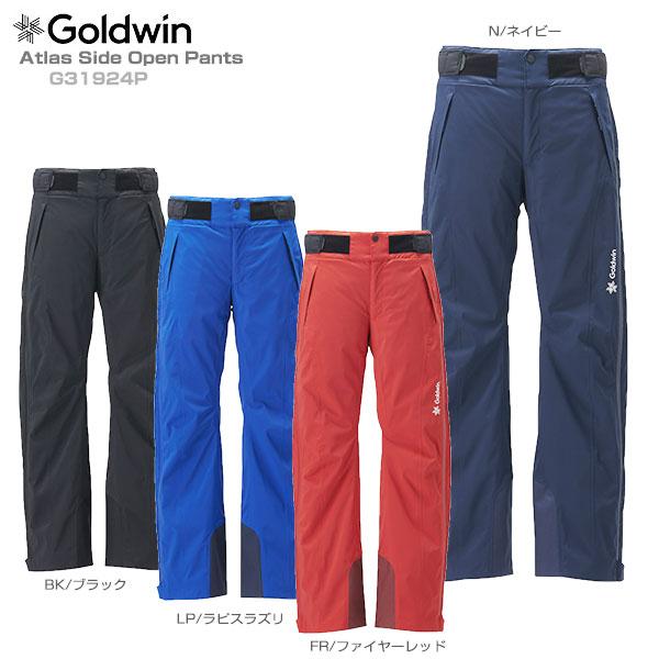 【19-20 NEWモデル】GOLDWIN〔ゴールドウィン スキーウェア パンツ〕<2020>Atlas Side Open Pants G31924P【送料無料】