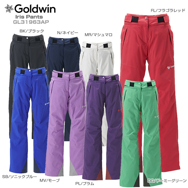 【19-20 NEWモデル】GOLDWIN〔ゴールドウィン スキーウェア レディース パンツ〕<2020>Iris Pants GL31963AP【技術選着用モデル】【送料無料】