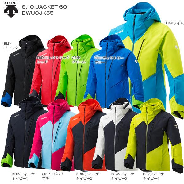 DESCENTE デサント スキーウェア ジャケット メンズ mens 2020 S.I.O JACKET 60/DWUOJK55 MUJI 送料無料 19-20 NEWモデル