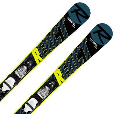 【エントリでP10&初売りセール!】ROSSIGNOL ロシニョール ショートスキー板 2020 MINI REACT 123 + XPRESS 10 金具付き・取付送料無料 19-20 NEWモデル