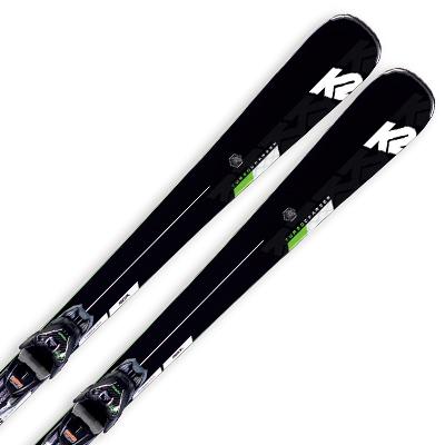 K2 ケーツー スキー板 2020 TURBO CHARGER ターボ チャージャー + MXC 12 Light Quikclik 金具付き・取付送料無料 19-20 NEWモデル