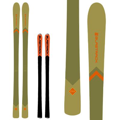 【19-20 NEWモデル 予約受付中】BLASTRACK〔ブラストラック スキー板〕<2020>STYLUS〔スタイラス〕【板のみ】