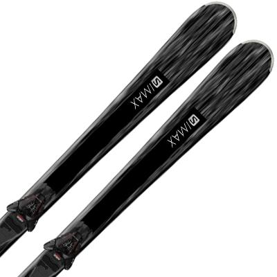 SALOMON サロモン レディース スキー板 2020 S/MAX W 4 + L10 GW 19-20 ビンディング セット 取付無料〔SA〕