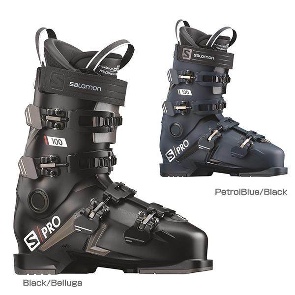 【最安値に挑戦中】SALOMON サロモン スキーブーツ 2020 S/PRO 100 送料無料 新作 最新 メンズ レディース 19-20 NEWモデル