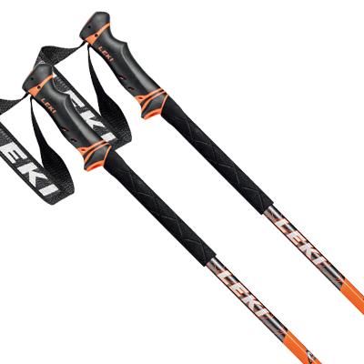 2021-2022 21 22 スキーストック ポール 長さ調整可能 伸縮 アルミ 日本メーカー新品 LEKI レキ アンスラサイト 21-22 ストック 伸縮式ストック NEWモデル スキー HELICON 新作 LITE 2022