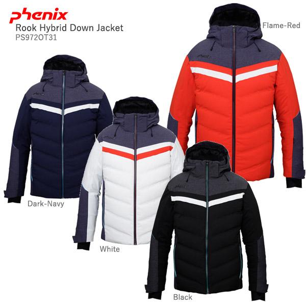 PHENIX〔フェニックス スキーウェア ジャケット〕<2020>Rook Hybrid Down Jacket / PS972OT31